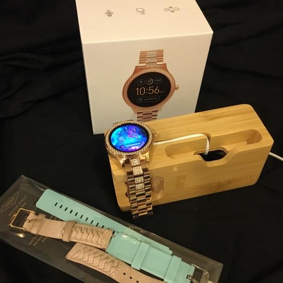 Fossil Q Venture Gen 3 Smartwatch bundle